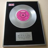 LINDISFARNE - MEET ME ON THE CORNER PLATINUM Single Presentation Disc